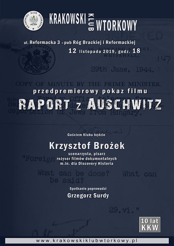 Przedpremierowy pokaz filmu Raport z Auschwitz